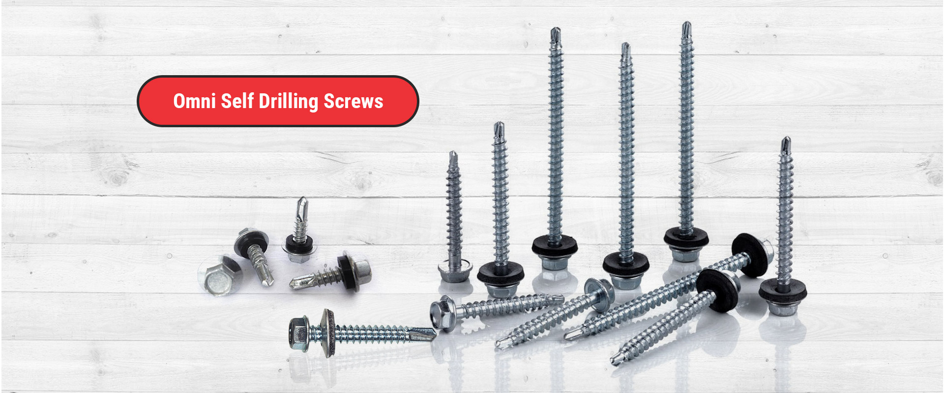 Banner - Omni Self Drilling Screws